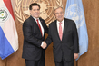 Secretary-General Meets President of Paraguay 2.835798
