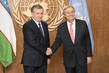 Secretary-General Meets President of Uzbekistan