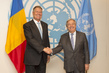 Secretary-General Meets President of Romania