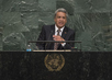 President of Ecuador Addresses General Assembly 3.2240484