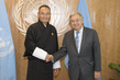 Secretary-General Meets Prime Minister of Bhutan 2.8358498