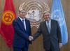 Secretary-General Meets President of Kyrgyzstan 2.8358498