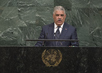 Foreign Minister of Dominican Republic Addresses General Assembly