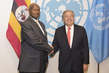 Secretary-General Meets President of Uganda 2.8356838