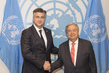 Secretary-General Meets Prime Minister of Croatia 2.8356838