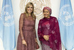Deputy Secretary-General Meets Queen Maxima of Netherlands 7.2295914