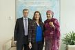 Deputy Secretary-General Meets Bill and Melinda Gates 7.2295914