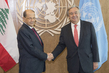Secretary-General Meets President of Lebanon 2.8356838