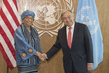 Secretary-General Meets President of Liberia 2.8356838