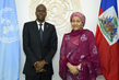 Deputy Secretary-General Meets President of Haiti 0.99512136