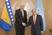 Secretary-General Meets Chairman of the Presidency of Bosnia and Herzegovina