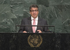 Vice-Chancellor of Germany Addresses General Assembly