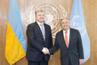 Secretary-General Meets President of Ukraine