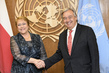 Secretary-General Meets President of Chile 1.0