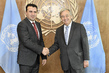 Secretary-General Meets President of former Yugoslav Republic of Macedonia 2.8356838