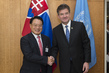President of General Assembly Meets Director General of UNIDO