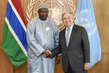 Secretary-General Meets President of the Gambia