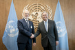 Secretary-General Meets Foreign Minister of Iraq