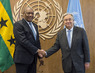 Secretary-General Meets President of Sao Tome and Principe 2.8348947