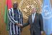 Secretary-General Meets President of Burkina Faso 2.8348947
