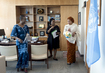 Deputy Secretary-General with Aides in Her Office 7.2295914