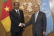 Secretary General Meets President of Cameroon 2.8348947