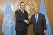 Secretary-General Meets Foreign Minister of Kazakhstan 2.8348947