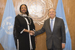 Secretary General Meets Foreign Minister of Kenya
