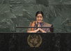 Foreign Minister of India Addresses General Assembly 3.2153707