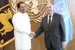 President of Sri Lanka Secretary-General Meets 0.38628832