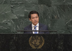 Foreign Minister of Lao People's Democratic Republic Addresses General Assembly 1.2414333