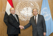 Secretary-General Meets President of Yemen 2.8338618
