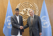 Secretary-General Meets Prime Minister of Nepal 2.8338618