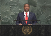 Foreign Minister of Saint Kitts and Nevis Addresses General Assembly