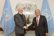 Secretary-General Meets Secretary for Relations with States of the Holy See