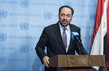 Foreign Minister of Afghansitan Speaks to Press