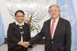 Secretary General Meets Foreign Minister of Indonesia