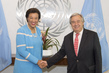 Secretary-General Meets Commonwealth Chief 2.836138