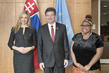 Assembly President Meets Goodwill Ambassador, Civil Society Representative on Human Trafficking 0.05350356