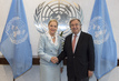 Secretary-General Meets Chair of UN Trust Fund for Victims of Human Trafficking 2.836138