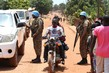 MINUSCA Peacekeepers Operate Checkpoint in Central African Republic 4.881159