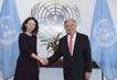 Secretary-General Meets President of ECOSOC 2.8354506
