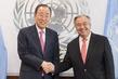 Secretary-General Meets Predecessor 2.8354506
