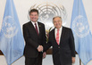 Secretary-General Meets President of General Assembly