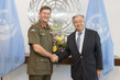 Secretary-General Meets Outgoing Head of UNTSO