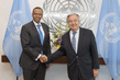 Secretary-General Meets State Minister of Somalia