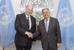 Secretary-General Meets Head of Aga Khan Development Network