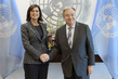 Secretary-General Meets President of Chamber of Deputies of Italy