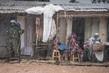 MINUSCA Peacekeepers Patrol PK5 Neighbourhood in Bangui, CAR 4.770528