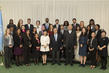 Secretary-General Meets Winners of UN Programme of Fellowships on Disarmament